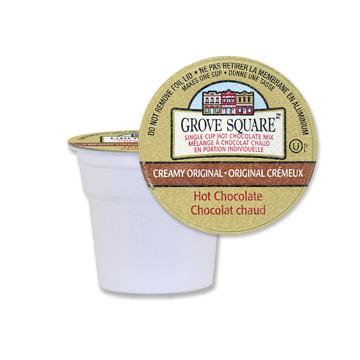 Grove Square Hot Chocolate Creamy Original (24 Pack)