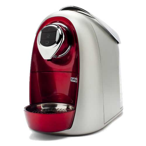 Caffitaly S04 red Home Espresso Brewer-from AM Coffee Shack Mississauga