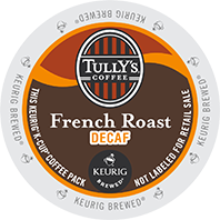 Tully's French Roast Decaf (24 Pack)